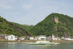 Rhine castle Royalty Free Stock Photo
