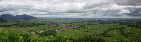 Rhine dolina Obrazy Royalty Free