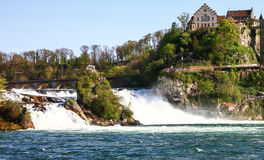 Rhine fall, Switzerland 4 Royalty Free Stock Photo