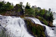 Rhine fall in Switzerland Royalty Free Stock Image