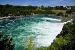 Rhine Falls в Schaffhausen, Швейцарии Стоковое фото RF