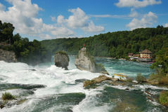 Rhine Falls. Stock Images