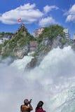 Rhine Falls Imagem de Stock Royalty Free