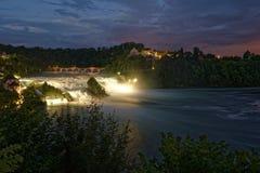 Rhine Falls Royaltyfria Bilder