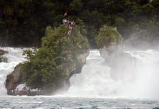 Rhine falls Stock Images