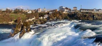 Rhine Falls en Schaffhausen, Suiza imagenes de archivo