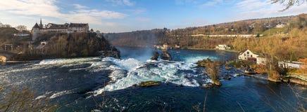 Rhine Falls en Schaffhausen, Suiza foto de archivo libre de regalías