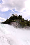 Rhine Falls in Europe Royalty Free Stock Photos
