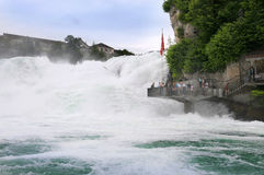 Rhine falls Royalty Free Stock Images