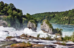 Rhine Falls, Switzerland Royalty Free Stock Images