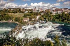 Rhine Falls - largest waterfall in Europe, Schaffhausen, Switzerland Stock Image