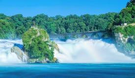 The Rhine Falls, long exposure Royalty Free Stock Photos