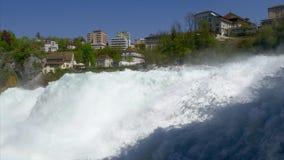 Rhine Falls p? Schaffhausen, Schweiz stock video