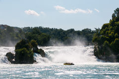 The Rhine Falls Stock Image