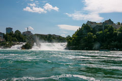 The Rhine Falls Royalty Free Stock Photo