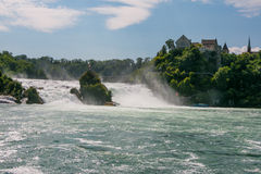 The Rhine Falls Stock Photo