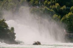The Rhine Falls Stock Image