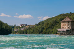 The Rhine Falls Royalty Free Stock Image