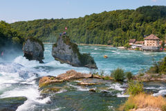 The Rhine Falls Stock Photos