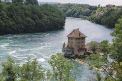 Rhine Falls. In Schaffhausen (City in northern Switzerland Stock Photography