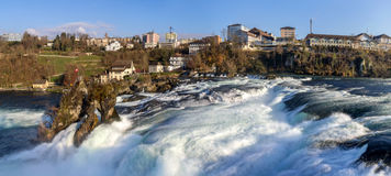Rhine falls in Schaffhausen, Switzerland Stock Images