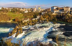 Rhine falls in Schaffhausen, Switzerland Stock Photography