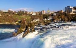 Rhine falls in Schaffhausen Royalty Free Stock Image