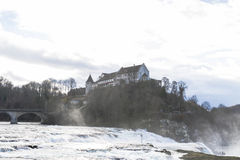 The Rhine Falls in Schaffhausen, Switzerland. Stock Images