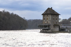 The Rhine Falls in Schaffhausen, Switzerland. Royalty Free Stock Photography