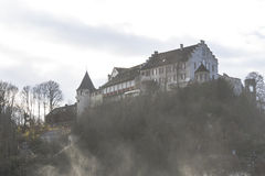 The Rhine Falls in Schaffhausen, Switzerland. Royalty Free Stock Image