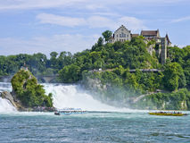 The Rhine Falls, Schaffhausen, Switzerland Stock Image
