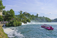 The Rhine Falls, Schaffhausen, Switzerland Royalty Free Stock Photo