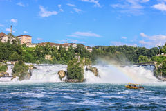 The Rhine Falls Stock Images