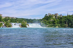 The Rhine Falls, Schaffhausen, Switzerland Stock Photography