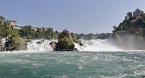 Rhine Falls at Schaffhausen Switzerland Royalty Free Stock Photo