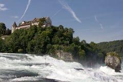 Rhine Falls - Schweiz arkivbild