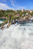 Rhine Falls in Spring Royalty Free Stock Photography