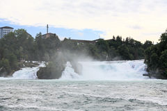 The Rhine Falls in Switzerland Stock Images