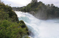 The Rhine Falls in Switzerland Royalty Free Stock Photography