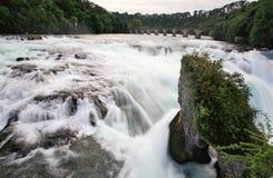 The Rhine Falls in Switzerland Stock Photography