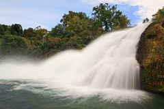 The Rhine Falls in Switzerland Royalty Free Stock Image