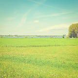 Rhine in Holland Stock Photos
