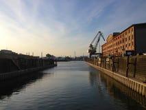 Rhine port Zdjęcia Stock