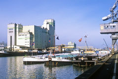 Rhine port of Kehl Royalty Free Stock Images