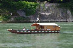 Rhine prom Basel Obraz Royalty Free