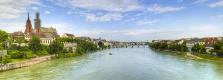 Rhine river Stock Images