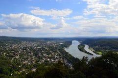 Rhine River Foto de Stock Royalty Free