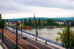 Rhine river Royalty Free Stock Images
