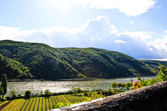 Rhine river Royalty Free Stock Photos