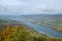 Rhine river Royalty Free Stock Photography
